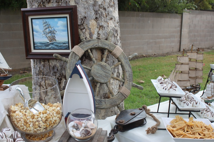 Nautical or SHOW BOAT theme party