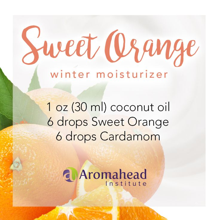 One of my favorite winter moisturizer blends is made with Sweet Orange essential oil (Citrus sinensis) and Cardamom essential oil (Ellettaria cardamomum) in a base of coconut oil. The aroma is spicy, warm, sweet, and tropical. This is such a comforting, cozy, uplifting blend (perfect for this time of year). Click to watch a video to make this moisturizer.