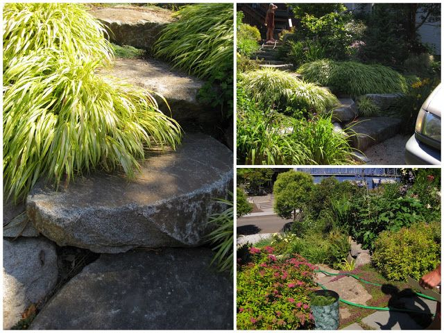 21 best ct landscapes and gardens images on pinterest for Garden designs for slopes