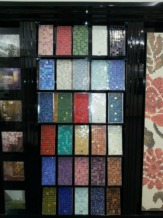 Tu ambiente a la moda! Mosaicos Bisazza, disponible en nuestro Showroom<3
