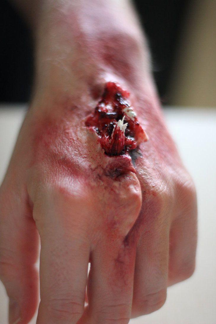 #specialeffects #sfxmakeup #makeupfx #wound #prosthetics