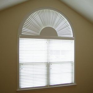 Blinds For Round Top Windows Arched Window In 2019