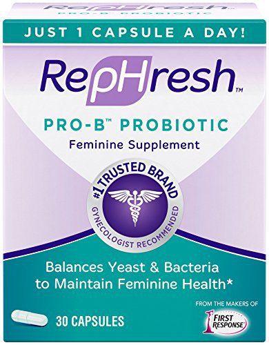 RepHresh Pro-B Probiotic Feminine Supplement, 30 Count //Price: $18.59 & FREE Shipping //     #hashtag1