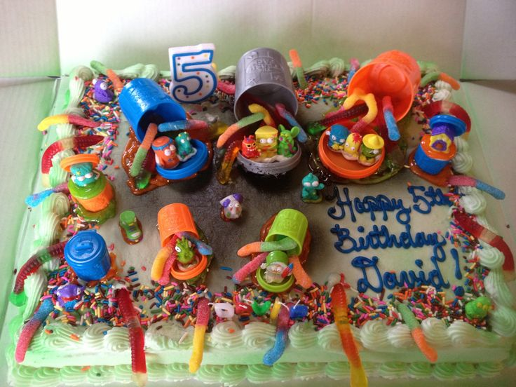 Trash Pack Birthday Cake Kid Stuff Pinterest