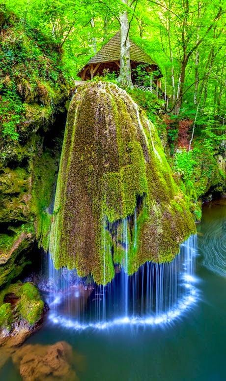 Located in the nature reserve in the Anina Mountains