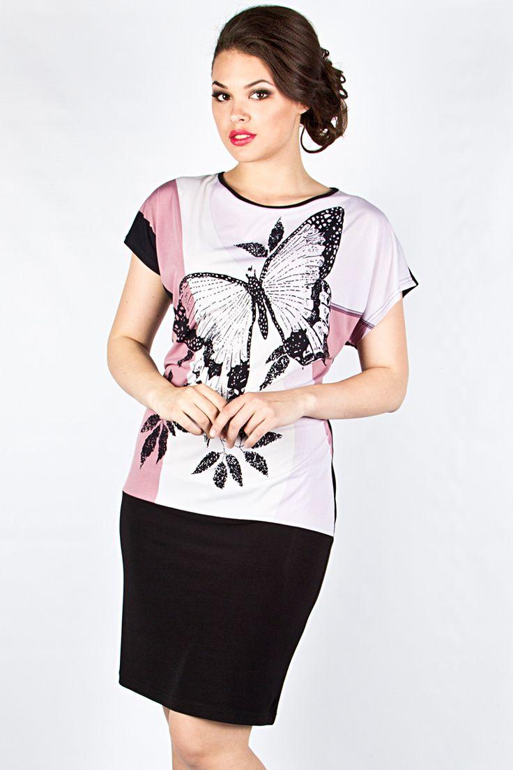 Повседневное трикотажное платье Новита-280 - интернет-магазин Moda-nsk