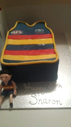 The 29 best images about AFL . . . Adelaide Crows Cakes ...