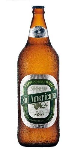 Cerveja Sul Americana, estilo Classic American Pilsner, produzida por Cervejaria Sankt Gallen, Brasil. 5% ABV de álcool.