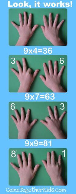 9 multiplication trick!