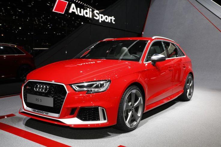 Audi Rs3 Sportback 2017 Vue Avant Couleur Rouge Audi Rs3 Audi Audi Rs