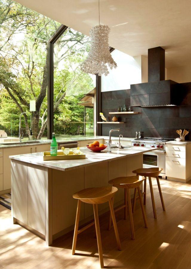 Moderne-kuche-asthetik-funktionalitat-112 moderne küchen ideen - moderne einbaukuche besticht durch minimalistische asthetik