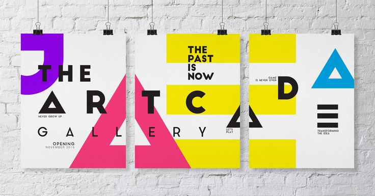 The Arcade Gallery on Behance