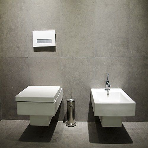 Toalett med bidé