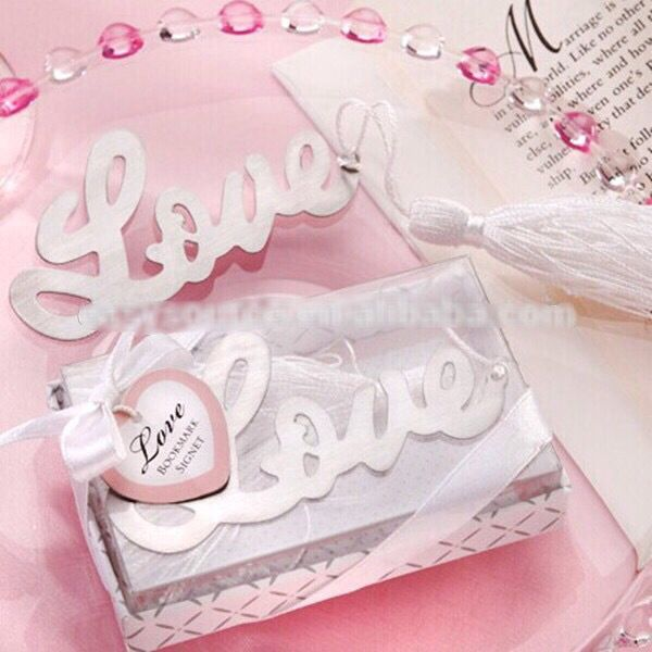 Stainless Steel Bookmark With Nylon Cord Word Love Paper Tag China Wholesale Jewelry Beads Find This Pin And More On Wedding Favors