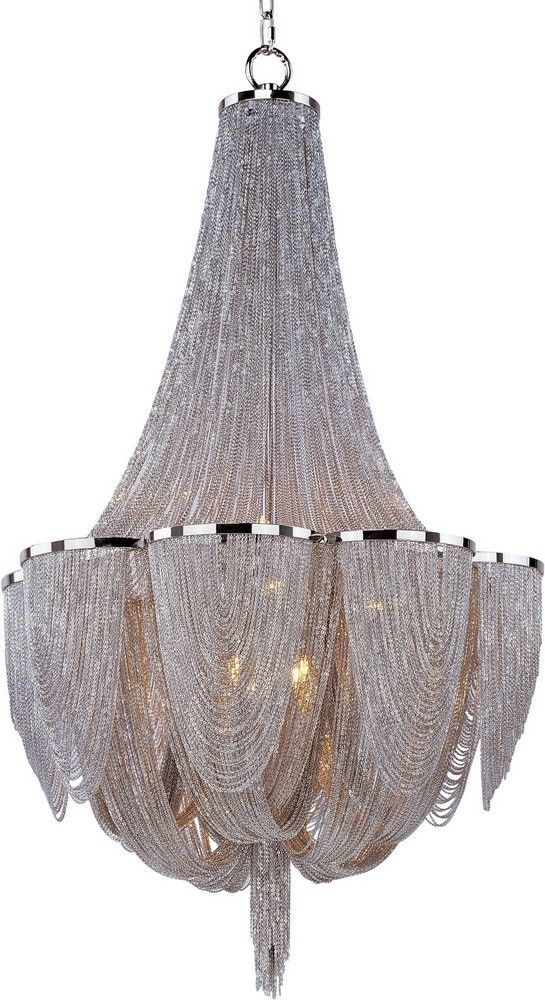 StylesofLighting   Chantilly - Ten Light Chandelier