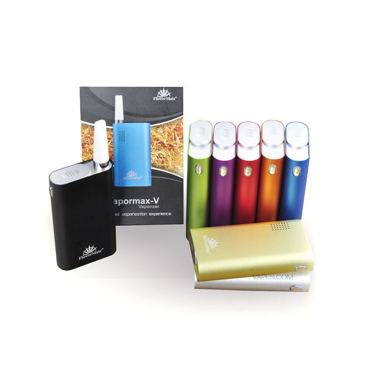 Pipa Vaporizzatore elettrico aromaterapia VaporMax-V portatile camera in acciaio