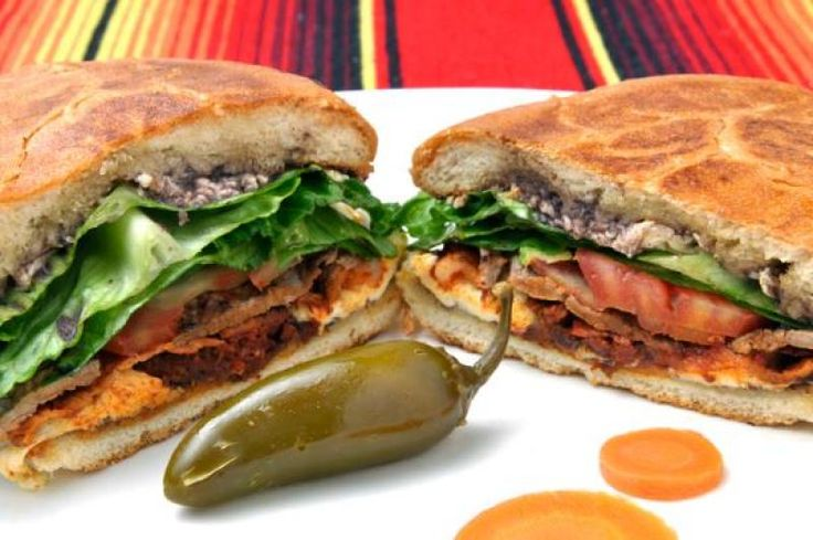 Classic Mexican Torta Recipe from The Authentic Mexican Kitchen