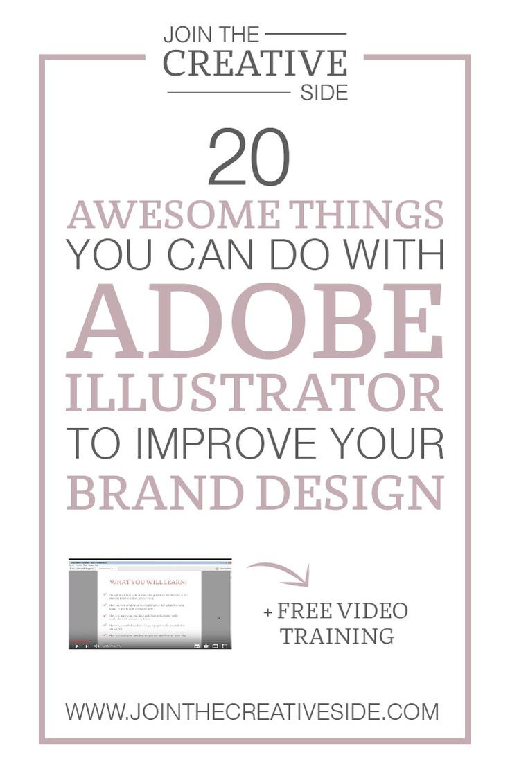 20 Awesome Things You Can Do With Adobe Illustrator To Improve Your Brand  Design