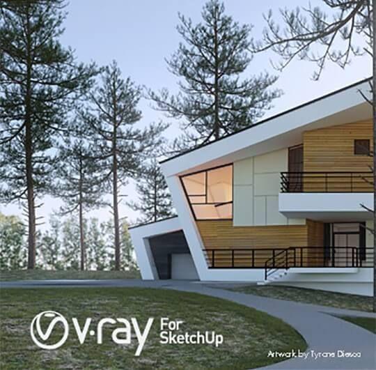 Vray 3 For SketchUp 2017 Crack + Serial Key Full Version Free.