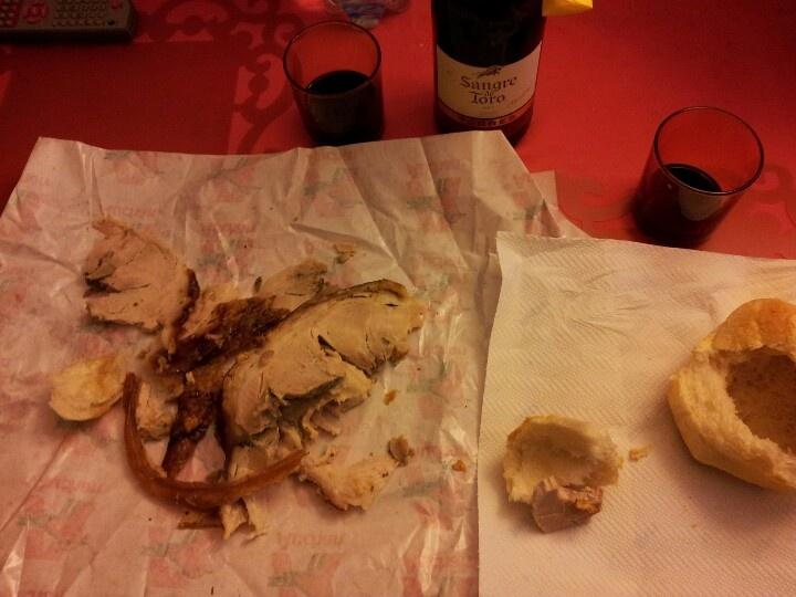 pane porchetta e vino