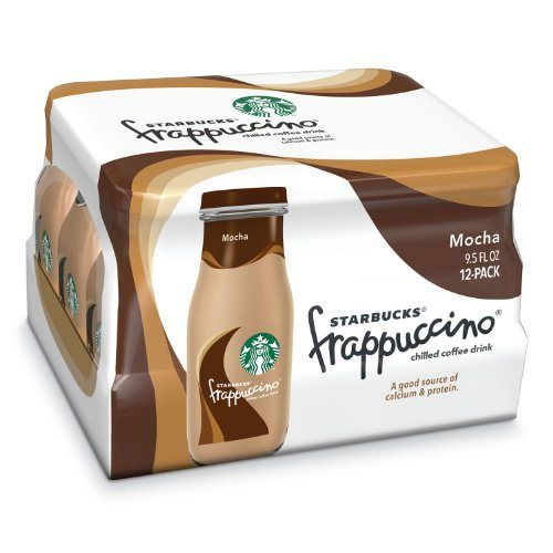 Starbucks Coffee Frappuccino Coffee Drink Mocha, 9.5 Ounce Bottles Total (24 Pack) - http://mygourmetgifts.com/starbucks-coffee-frappuccino-coffee-drink-mocha-9-5-ounce-bottles-total-24-pack/