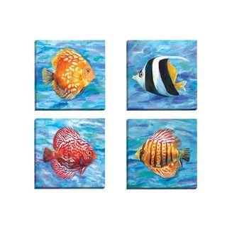 Shop for Portfolio Canvas Decor Sandy Doonan 'Tropical Colors 2' Framed Canvas…