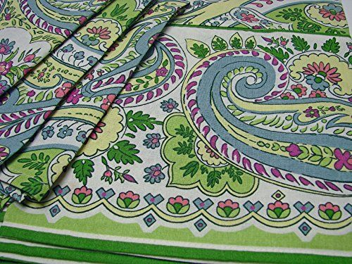 ac-pp84n8 April Cornell Pastel Paris Paisley SET 84 x 60 Tablecloth + 8 Dinner Napkins 100% Cotton Blue Green http://www.easterdepot.com/ac-pp84n8-april-cornell-pastel-paris-paisley-set-84-x-60-tablecloth-8-dinner-napkins-100-cotton-blue-green-2/ #easter  Using nature's colors, lines, forms and shapes as her guides, April Cornell's designs are an inspiration to make an occasion of every day. All April Cornell linens are printed in India where skilled craftsmen combine age-old practic..