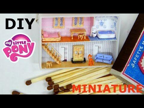 マッチ箱でミニチュアドールハウスをDIY♡手作りおもちゃ | Handful