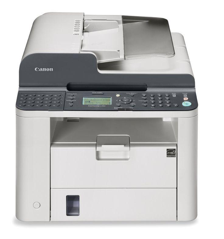 """Canon Fax Phone L 190 Monochrome laser Fax Machine $196.03 17.5"""" x 18.6"""" x 14.1"""" Pg: canon fax phone L 190"""