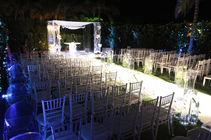 Outdoor Wedding At W South Beach