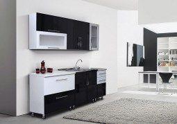 Черно-белые кухни regina1 недорого в Москве