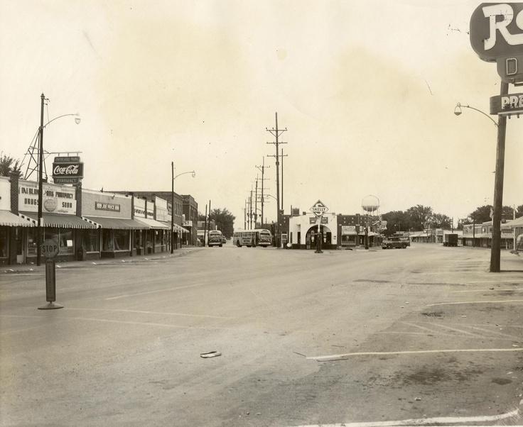 Downtown Op 1951 Overland Parkkansas Cityheartlandcityscapesregionalurban Landscape 24 Best Things Remembered Images On Pinterest Kansas City