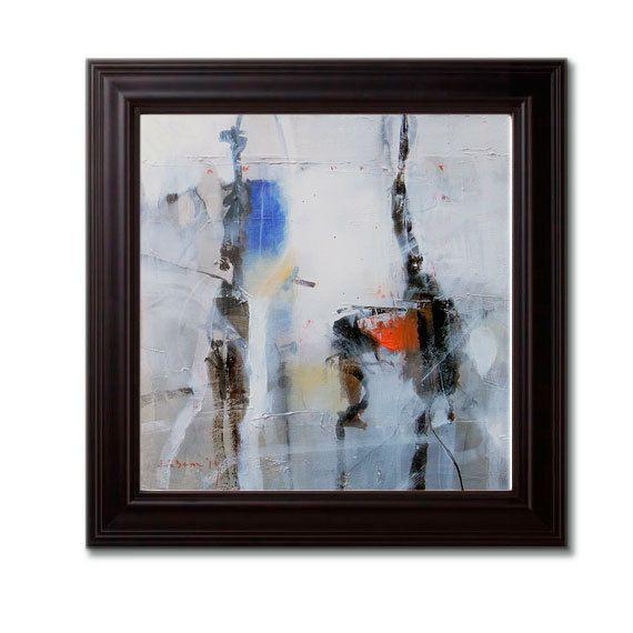ABSTRACT original paintings acrylic mixed media by kuzennyArt