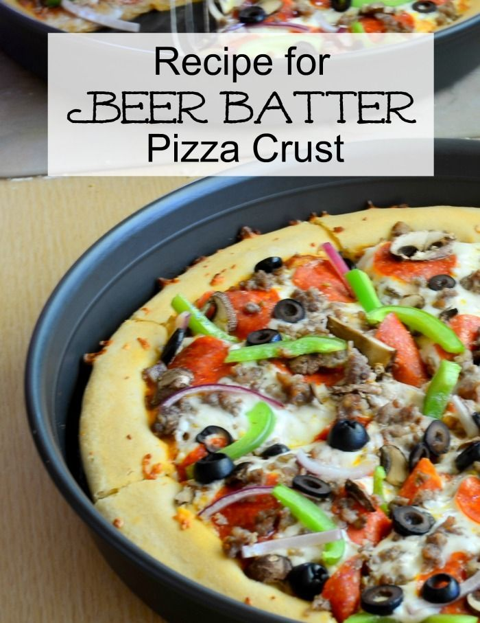 Beer Batter Pizza Crust