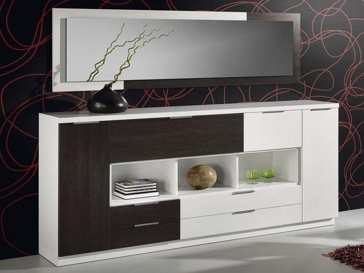 Aparador moderno reforma piso arriba pinterest for Aparadores modernos