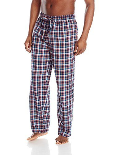 Jockey Men's Woven Sleep Pant   Jockey Men's Woven Sleep Pant This Jockey yarn dyed poly rayon sleep pant features an elasticized waistband with contrast jacquard logo interior. A self fabric draw cord, two side seam pockets and covered button thru fly add comfort and function. Sleep pant has an ultra soft light to mid-weight, relaxed fit.  http://www.allsleepwear.com/jockey-mens-woven-sleep-pant/