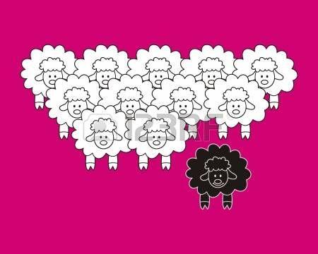 verschillende schapen Vector Illustratie