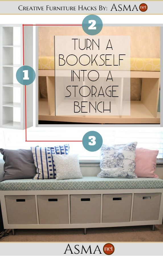 This DIY storagebench is amazing for so many reasons? Here is why:     The bench has enough space and height for your kids to sit, play and look out of the window which kids love to