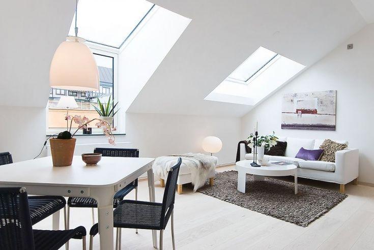 нордический дизайн, квартира,мансарда, белый стиль,минимализм,светлая квартира,фото