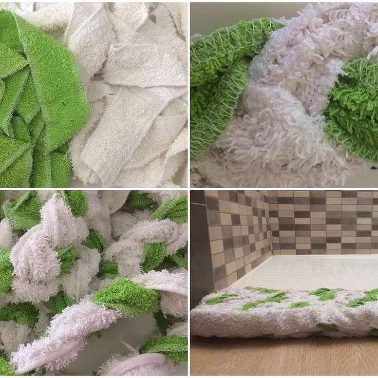 #recycled #bathroomrug #recycle #reuse #reduce #oldtowels #towels #handmade #hechoamano #alfombra de #baño #reciclaje #reciclar #toallas #viejas #reciclajecreativo #reciclajeconestilo #vhga How to do it: http://ift.tt/2x6mOpw