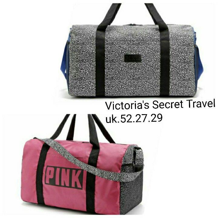 Tas Victoria Secret Travel Bag Pink 6916 52x27x29 205rb