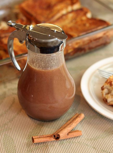 ~DIY~for Holidays or any day! Cinnamon Vanilla Cream Syrup... great on french toast , waffles, pancakes, ice cream , pound cake, apple pie ... etc