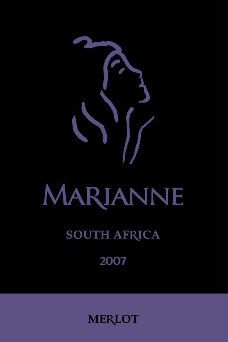 Wine.  Wine Label.  Marianne Estate.    2007 Merlot... Veritas Double Gold 2012... nuf said?  You had me at Merlot as we like to say.