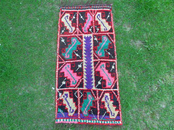 Immigrant Rug Natural Dye Rug Traditional Rug Bohemian