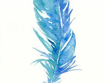 ORIGINAL AQUARELL Vier Federn mit aztekische / Stammes-Designs in Tinte  -Misst 8 x 10 Zoll  -Lackiert mit hochwertigen Aquarell Lacken auf 140lb Coldpress Watercolor Paper  -Keine Frames enthalten.  -Artist behält sich alle Rechte an diesem Kunstwerk. Bitte nicht reproduzieren.  Siehe mehr hier: Shop: https://www.etsy.com/shop/GrowCreativeShop Blog: http://growcreativeblog.com Facebook: https://www.facebook.com/pages/Grow-Creative/253463474682031