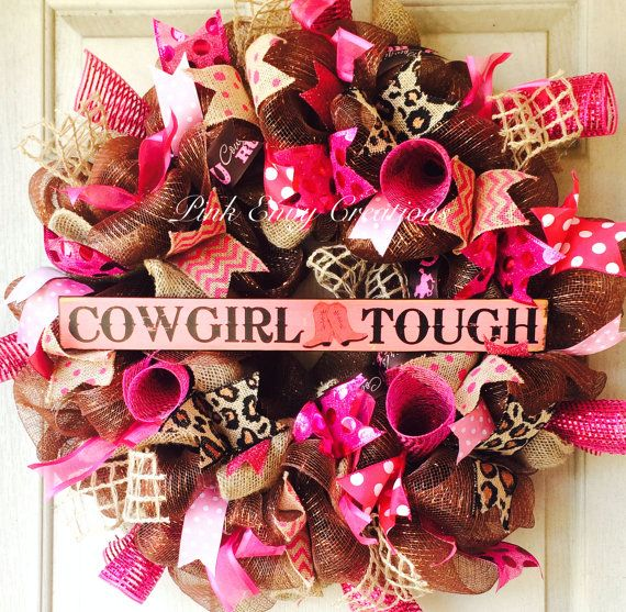 Sassy Hot Pink and brown Cowgirl Rodeo by PinkEnvyCreations