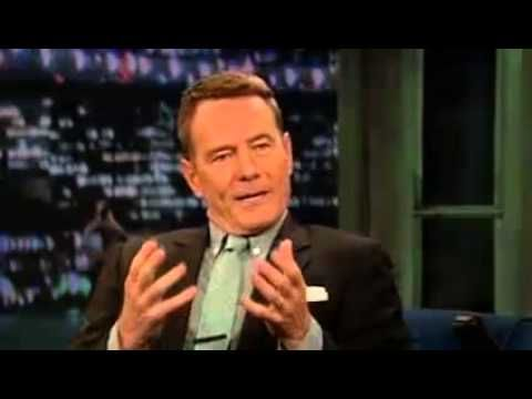 """'Breaking Bad' - Bryan Cranston on late night with Jimmy Fallon (Full interview) - 8/2/2013 - love how the roots sing """"say my name"""""""