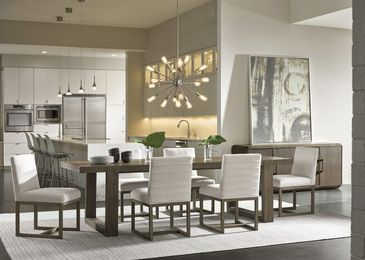 Modern Dining Room Set | Universal Furniture | Home Gallery Stores