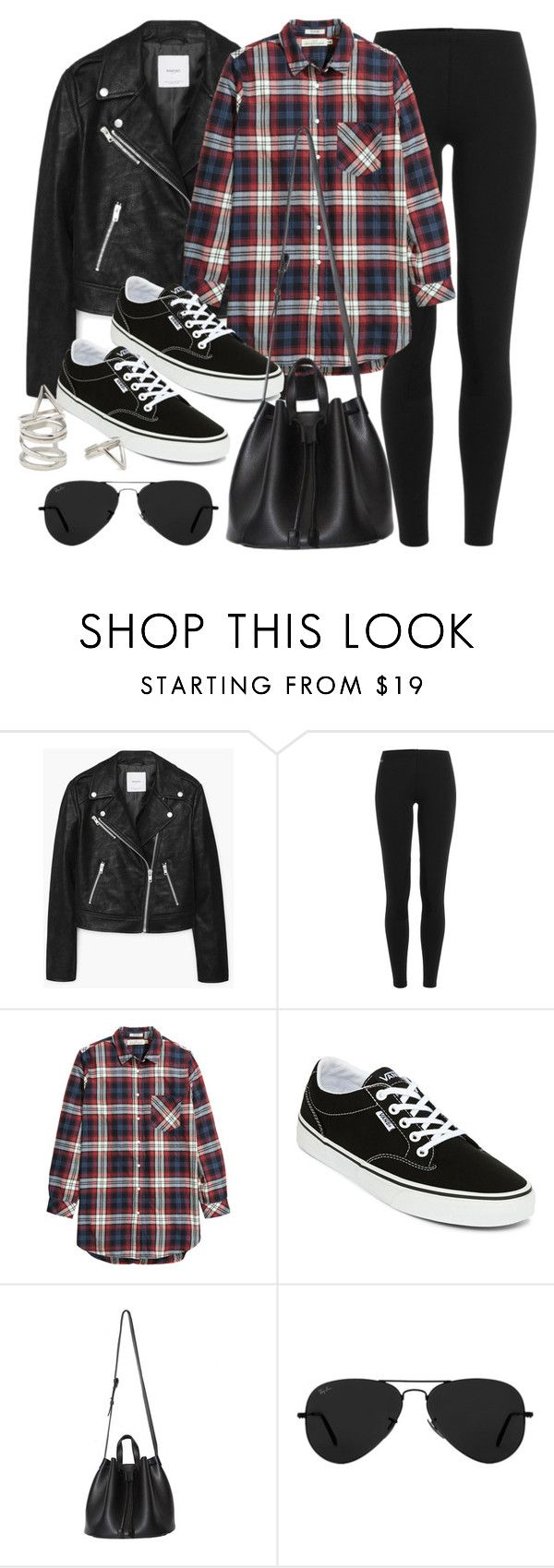 """""""Style #11630"""" by vany-alvarado ❤ liked on Polyvore featuring MANGO, Polo Ralph Lauren, H&M, Vans, Ray-Ban and Forever 21"""