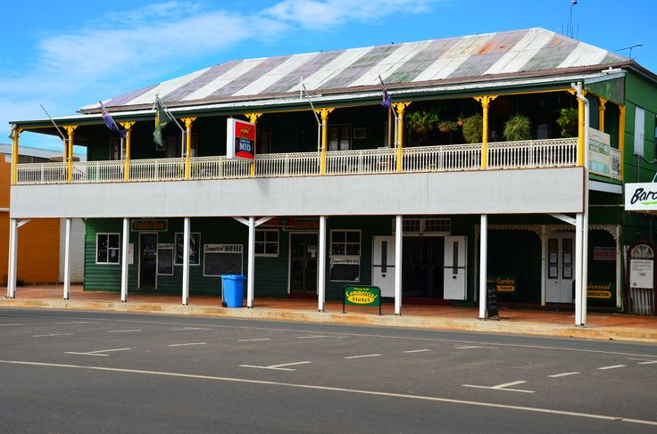 Commercial Hotel, Barcaldine QLD